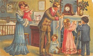 Christmas Postcard Reproduction Postal used unknown