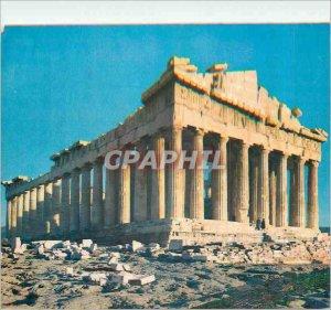 Postcard Modern Athens Parthenon