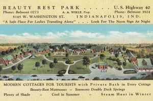INDIANAPOLIS , Indiana , 1930-40s ; Beauty Rest Park