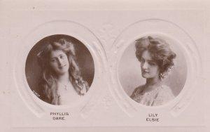Theatre; Phyllis Dare & Lily Elsie , 00-10s