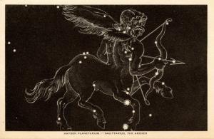 NY - New York City. Hayden Planetarium. Sagittarius   (Astronomy)