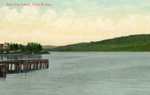 Canada - Cape Breton. Bras d'or Lakes