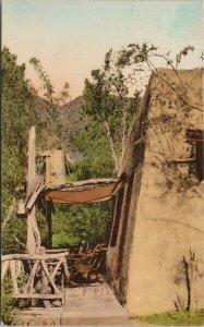 Soboba Hot Springs San Jacinto CA 'Sonomo' Guest House c1937 Postcard F34