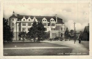 Czech Republic Láznê Podêbrady Lázně Hotel 02.86
