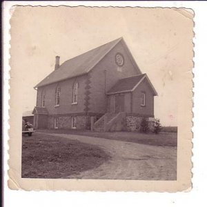 4X4 inch B&W Photograph, Epson United Church, 1950, Ontario,