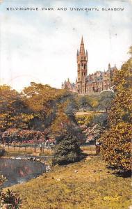 Glasgow Ireland Kelvingrove Park and University Glasgow Kelvingrove Park and ...