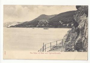 UK Scotland Kyles of Bute and Tigh-na-Bruaich Vtg Stengel Postcard c 1910