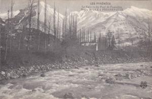 LUZ (Pyrenees-Atlantiques), France, 1900-1910s; Le Gave Vu Du Pont De Pescade...