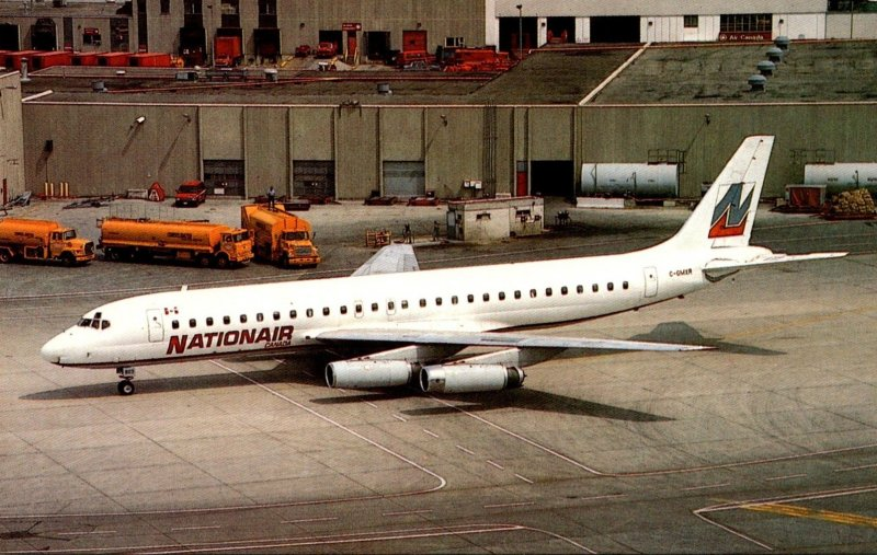 NATIONAIR Canada McDonnell Douglas DC-8-62 At Lester B Pearson International ...