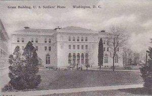 Washington DC Grant Building US Soldiers Home Albertype