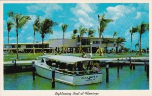 Florida Sightseeing Boat At Flamingo Everglades National Park