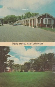 WEST SCARBOROUGH , Maine , 50-60s ; THE PRIDE MOTEL AND COTTAGES