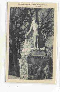 Indian Memorial, Camp Chesterfield, Indiana, 10-20s