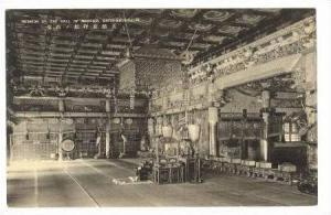 Interior Of The Hall Of Worship, Daiyu-Mausoleum, Japan, 1900-1910s
