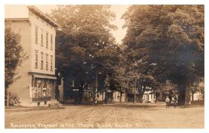 Vermont  Rochester,  Town Center, Barber Shop, General Store , RPC