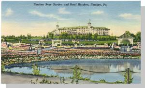 Hershey, Pennsylvania/PA Postcard, Hotel Hershey/Rose Garden