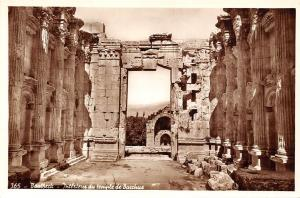 Lebanon Baalbeck - Interieur du temple de Bacchus