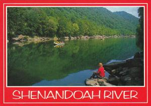 West Virginia Shenandoah River In Augusta County
