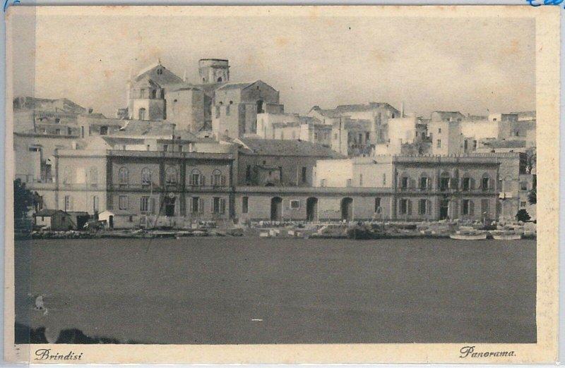 CARTOLINA d'Epoca - BRINDISI Città - PANORAMA
