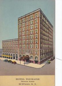 New York Buffalo Hotel Touraine Delaware Avenue