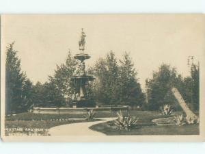 Pre-1920 rppc CENTRAL PARK Could Be New York But Postmarked Baltimore MD i7322