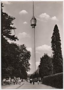 Post Card Stuttgart Germany   Fernsehturm