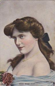 Famous Ladies Miss Maie Ash 1907 Tucks