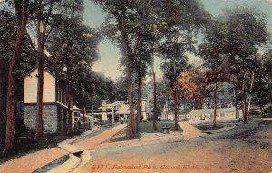 LPS88 COUNCIL BLUFFS Iowa Fairmount Park Postcard