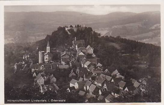 Germany Lindenfels in Odenwald Real Photo