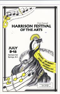 Advertising Harrison Festival Of The Arts Harrison Hot Springs Canada