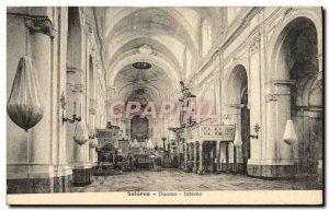Postcard Old Salerno Duomo interno