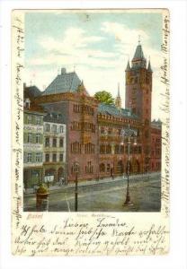 Basel, Neues Rathaus, Switzerland , PU-1903