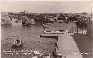 RP: Skegness, Uk, 1900 - 10s ;  Long Island & Venetian Bay, Boaring Lake