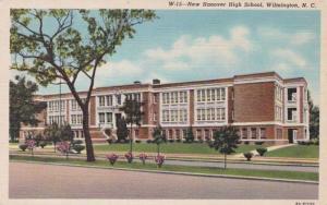 North Carolina Wilmington New Hanover High School Curteich