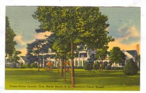 Ocean Forest Country Club, Myrtle Beach , South Carolina, PU-1940 ; #2