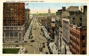CT - Hartford. Main Street Looking South
