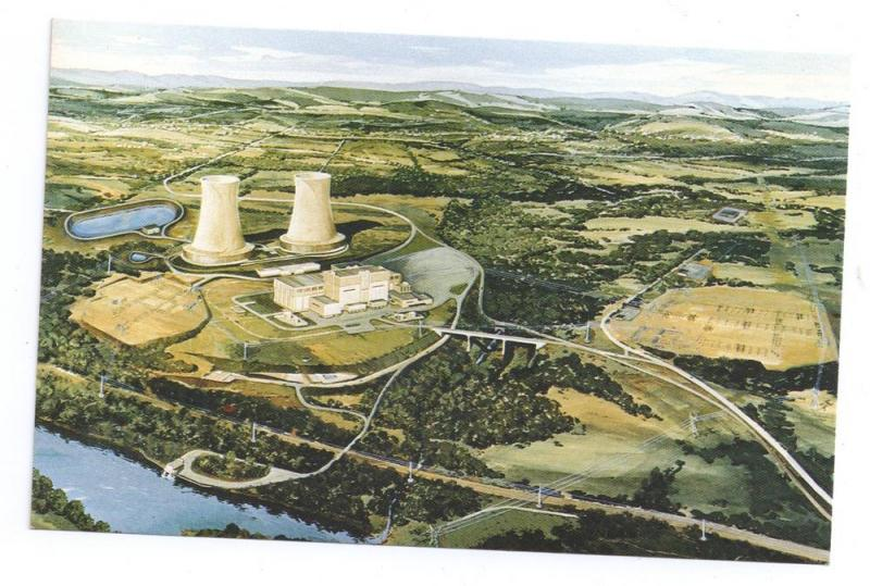 Limerick PA Nuclear Power Plant Postcard Atomic Energy