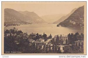 RP Italy Lago di Como - Presso Como- Bellagio , Italy , 1910s