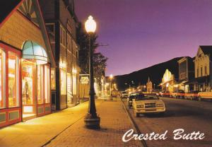 Street view,  Crested Butte,  Colorado,  50-70s