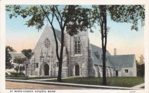 AUGUSTA, Maine, 1900-1910's; St. Marys Church