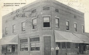 GLENDALE , Arizona , 1912 ; State Bank
