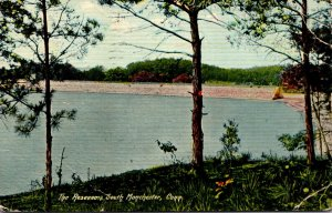 Connecticut South Manchester The Reservoir 1911