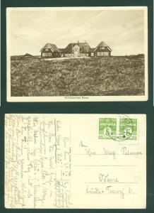 Denmark. Card  1932 Romo Sanatorium. Address: Odense