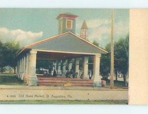 Pre-Chrome HISTORICAL SCENE St. Augustine Florida FL AH5893