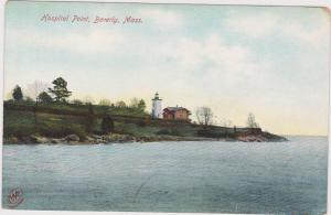 Lake View of Hospital Point Lighthouse, Beverly, Massachusetts,00-10s