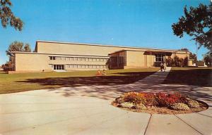 Rexburg Idaho Ricks College Street View Vintage Postcard K105917