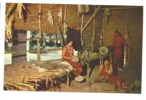VA Jamestown Chief Powhatan Lodge Algonquin Long House