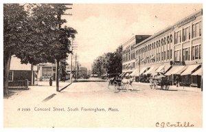 Massachusetts  Framingham .   Concord Street,  Rexall Drugs Store