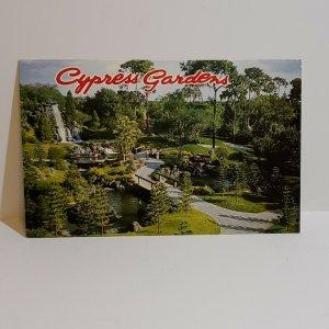 Vintage Postcard Cypress Gardens Florida Gardens of the World 1984   436