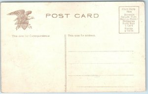 Dayton, Ohio Postcard Bird's-Eye View of National Military Home c1910s Unused